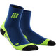 cep Dynamic+ Short Socks Men deep ocean/green